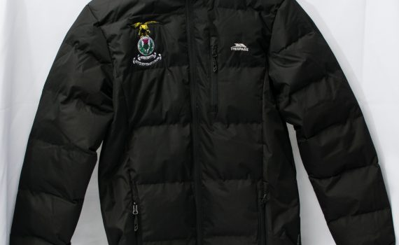 Trespass Black Jacket Adult