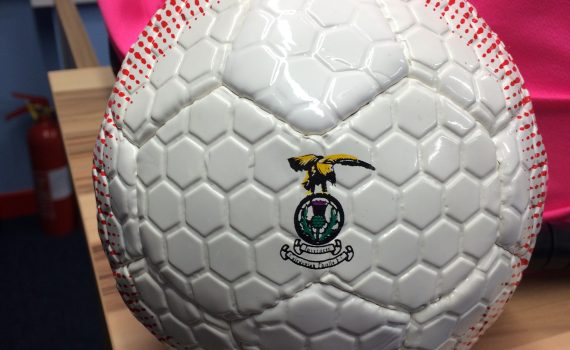 ICTFC Mini Embossed Ball