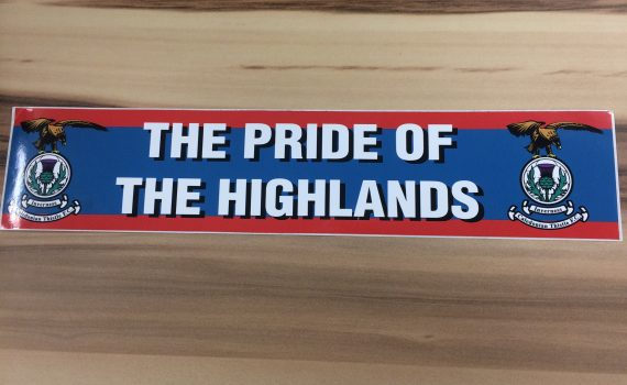 Pride of Highlands Sticker