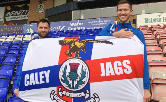 Caley Jags Large Flag