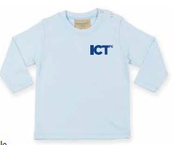 Kids Blue Long Sleeve Tee-shirt