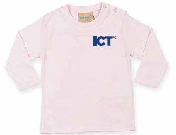 Kids Long Sleeved Pink Tee-shirt