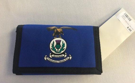 ICTFC Blue Velcro Wallet