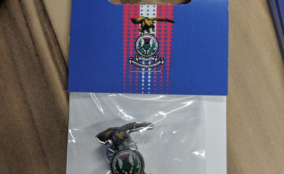 ICTFC Crest Pin Badge