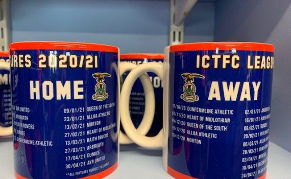 2020/21 League Fixtures Mug