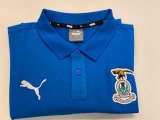 Puma Polo Shirt Blue Adult