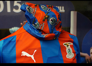 ICTFC Blue/Red Crest Snood