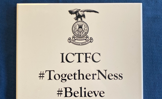 ICTFC Wall of Fame Tile